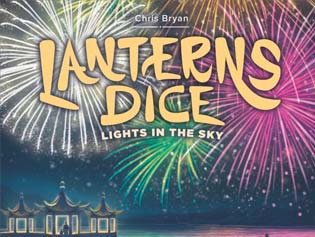 Lanterns Dice, otro roll & Write
