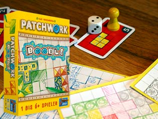 Roll & Write de Patchwork